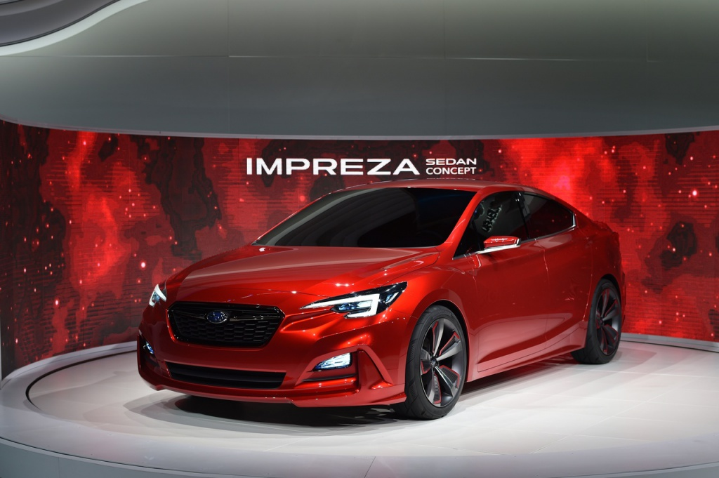 Мировая премьера концепта Subaru Impreza в кузове седан